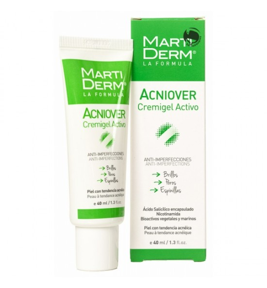 MARTIDERM ACNIOVER CREMIGEL ACTIVO 40 ML